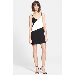 Parker Crowley Black and White Dress